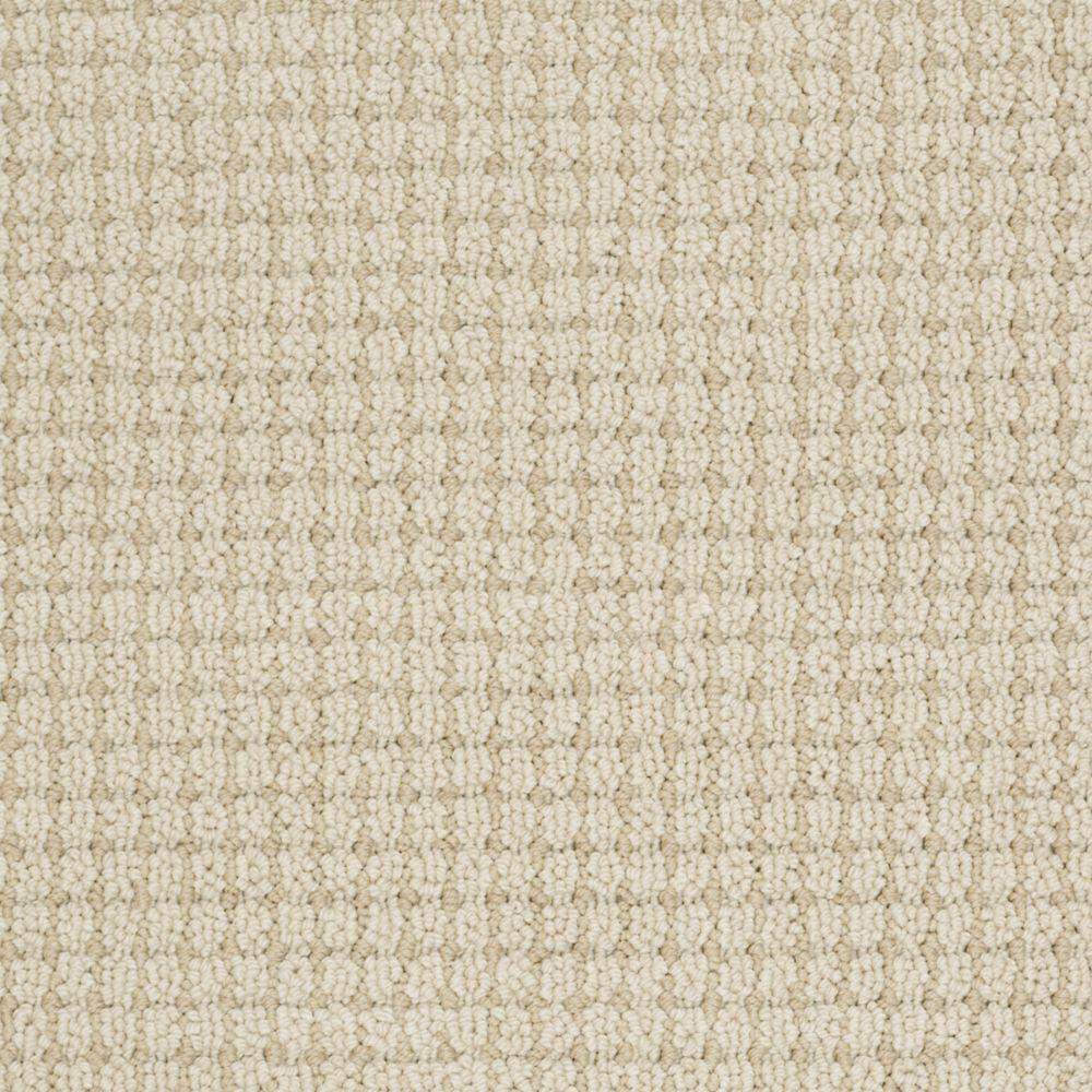Martha Stewart Living Gloucester Hill - Color Buckwheat Flour 6 in. x 9 in. Take Home Carpet Sample