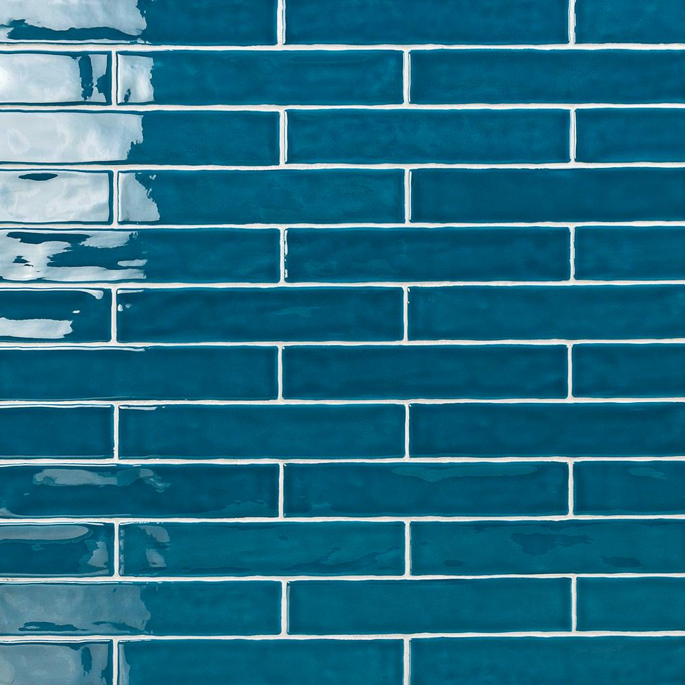 ivy hill tile newport teal 2 in x 10 in x 11mm polished