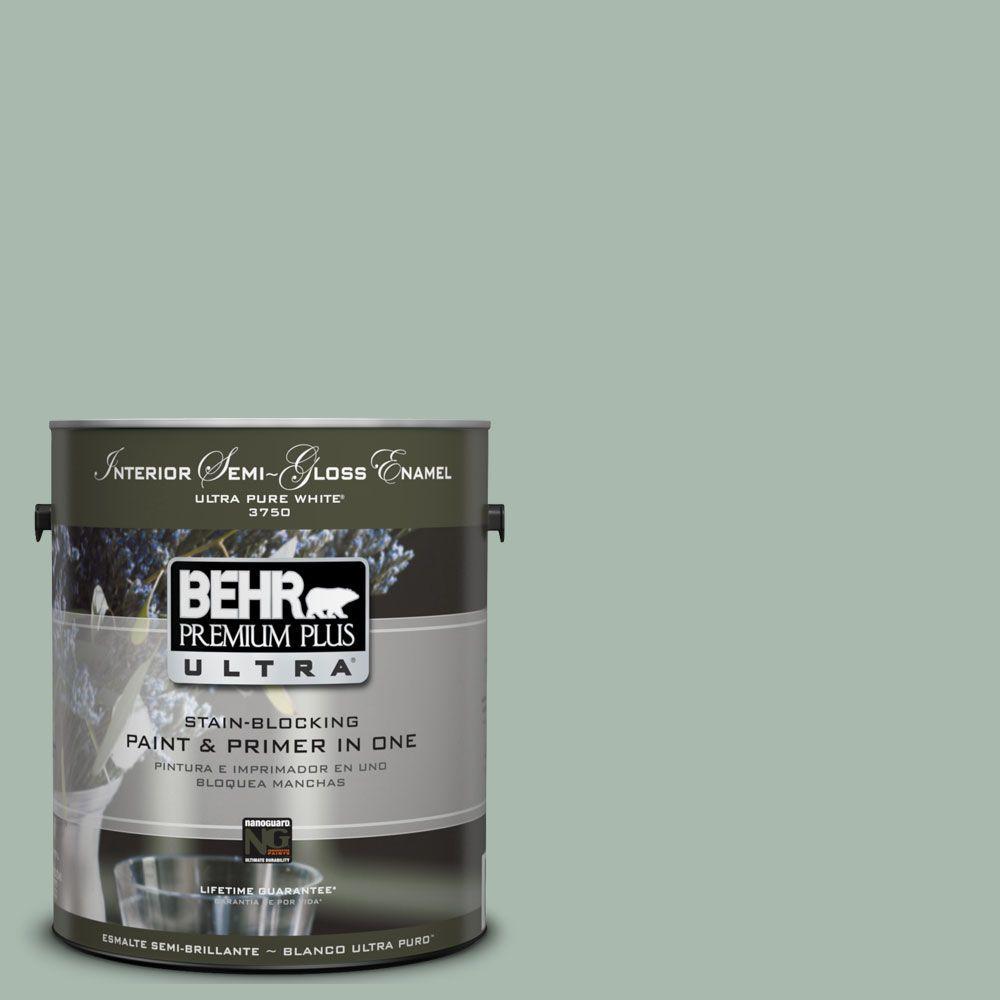 Amazing BEHR Premium Plus Ultra 1 Gal. #UL220 14 Zen Interior Semi