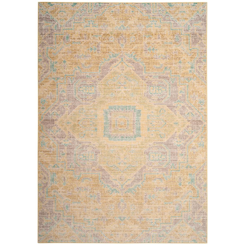 Lime Green Grey Area Rug: Safavieh Windsor Light Gray/Lime 5 Ft. X 7 Ft. Area Rug