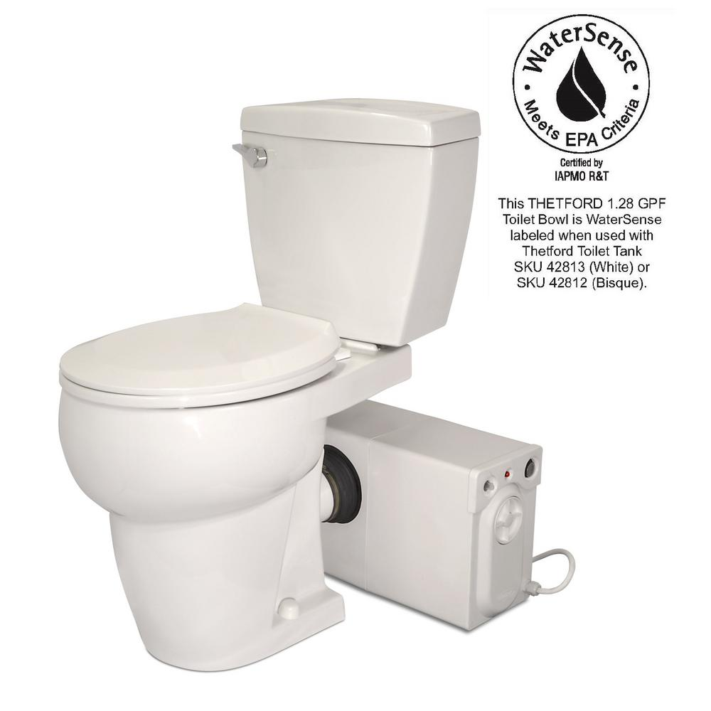 thetford bathroom anywhere 2 piece gpf single flush. Black Bedroom Furniture Sets. Home Design Ideas