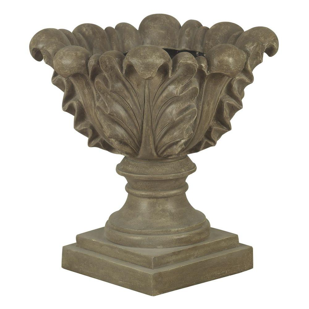 Kenroy Home Scroll Leaf Planter Garden Ornament