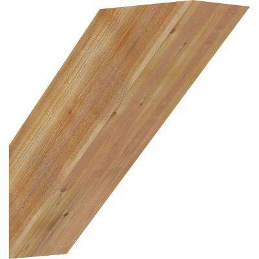 4 in. x 12 in. x 12 in. Western Red Cedar Traditional Rough Sawn Brace