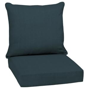 24 in. x 22.5 in. Atlantis Woven 2-Piece Outdoor Deep Seating Lounge Chair Cushion