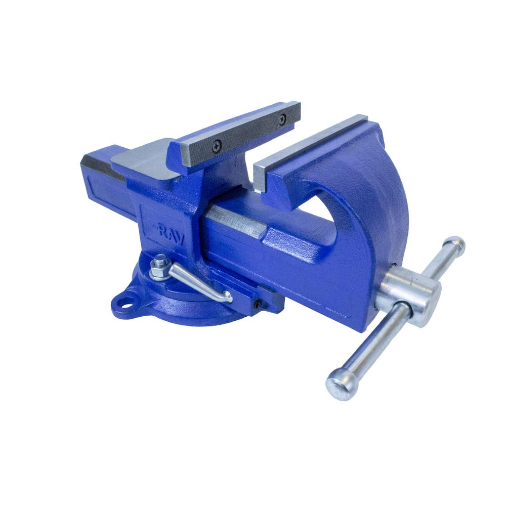 Yost 5 In Rapid Action Bench Vise 5 Rav The Home Depot