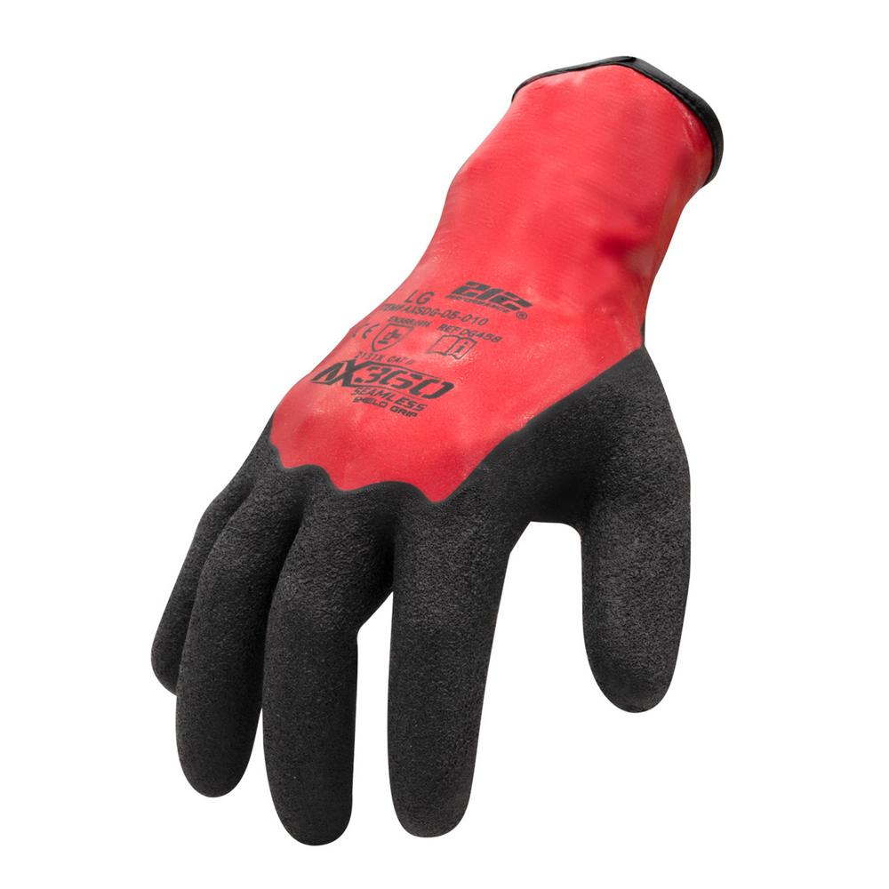212 Performance Gloves X-Large Shield Grip Latex-dipped Glove