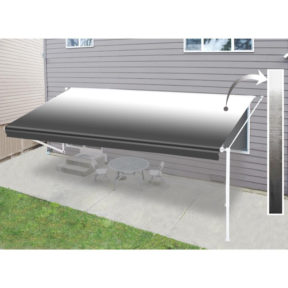 Aleko 13 Ft Rv Retractable Awning 96 In Projection In
