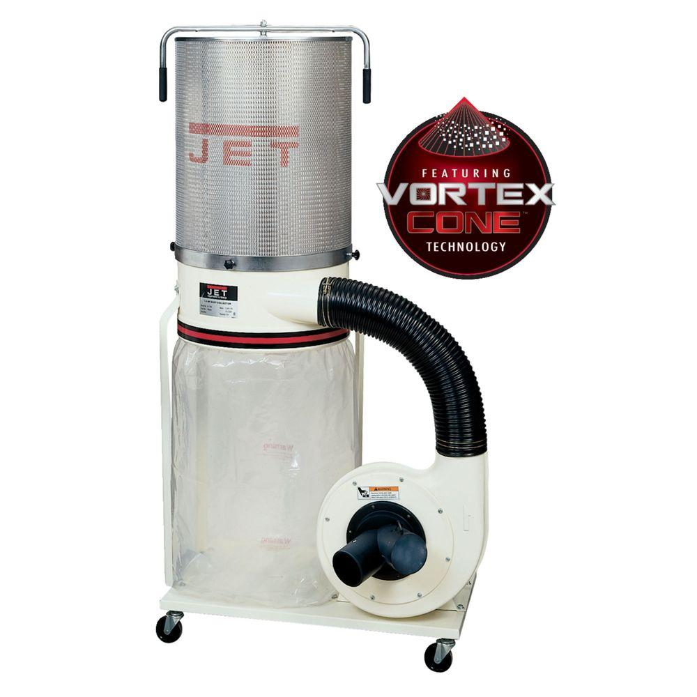 1.5 HP 1100 CFM 4 or 6 in. Dust Collector with