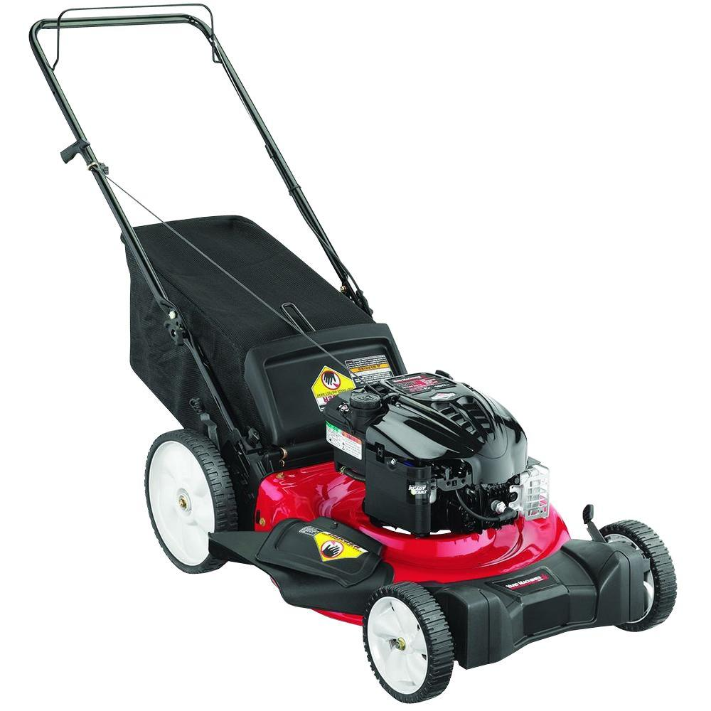 Yard Machines 21 in. 190 cc Gas Walk-Behind Lawn Mower