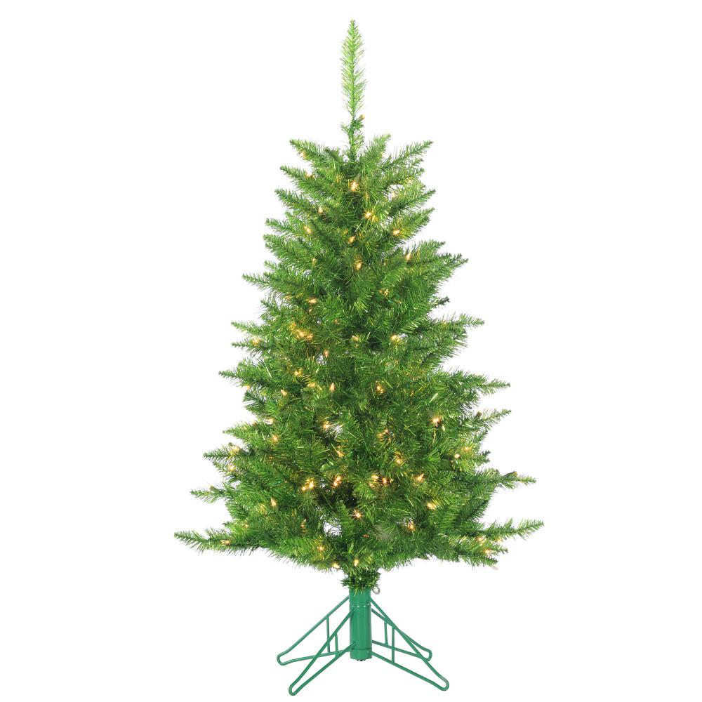 Sterling 4 Ft. Pre Lit Green Tuscany Tinsel Artificial Christmas Tree