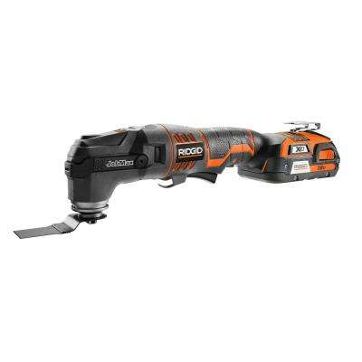 18-Volt Lithium-Ion Cordless JobMax with Tool-Free Head Kit with (1) 1.5Ah Battery and Charger