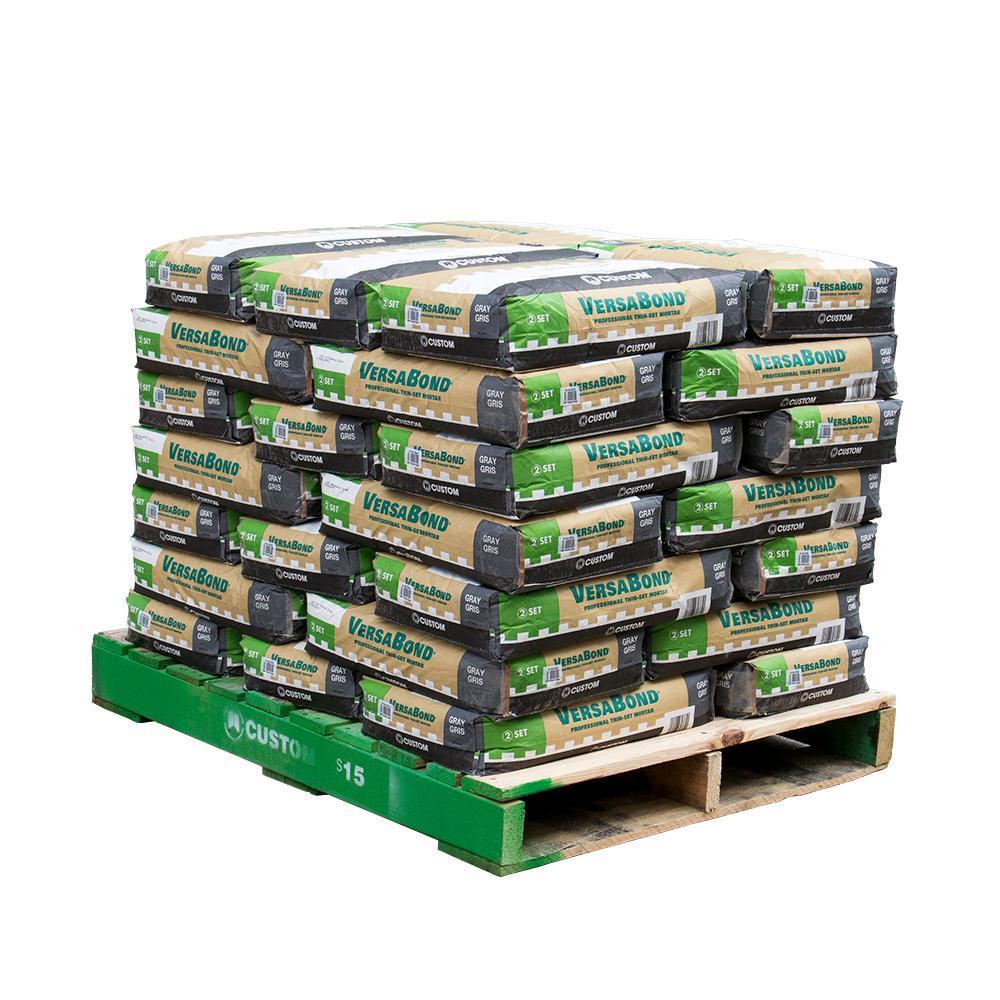 VersaBond Gray 50 lbs. Fortified Thin-Set Mortar (35 Bags / 3500