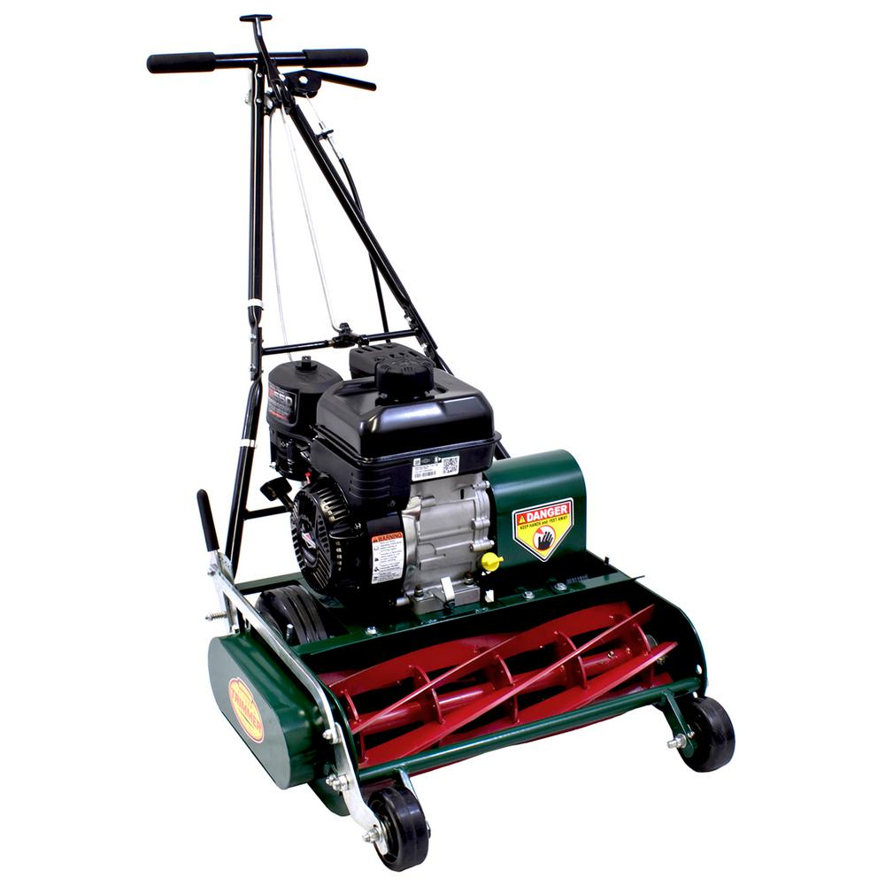 California Trimmer Classic Standard 20 in. 7-Blade Briggs & Stratton Gas Walk Behind Self-Propelled Reel Lawn Mower
