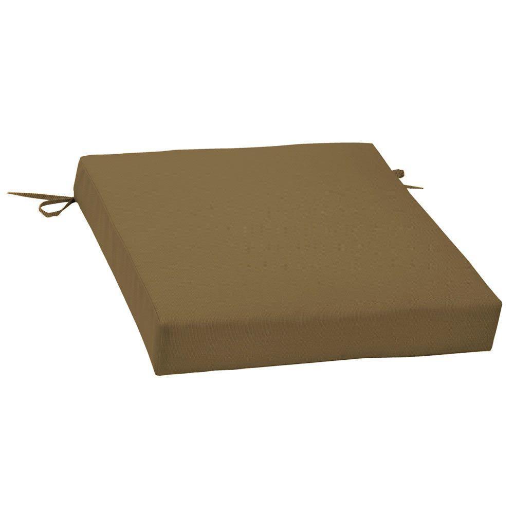 Sunbrella Canvas Cork Outdoor Seat Cushion-DISCONTINUED