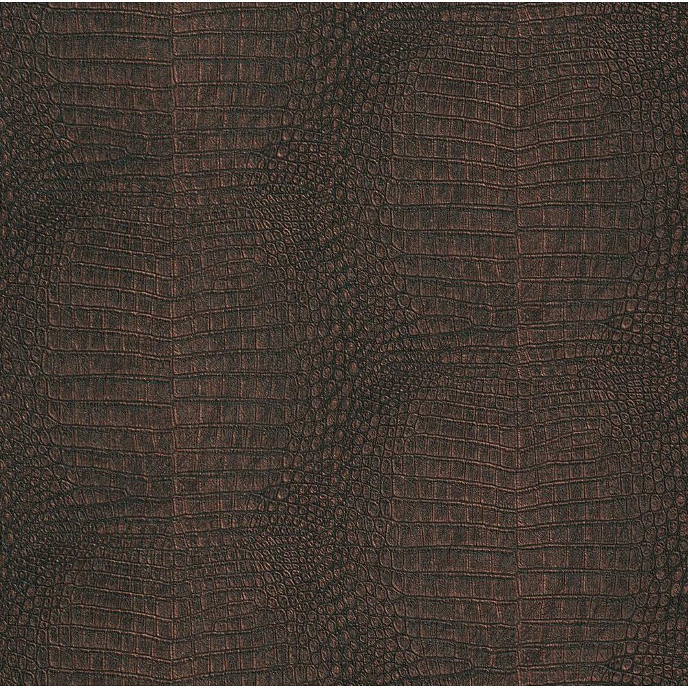 null Washington 56 sq. ft. Alligator Skin Wallpaper