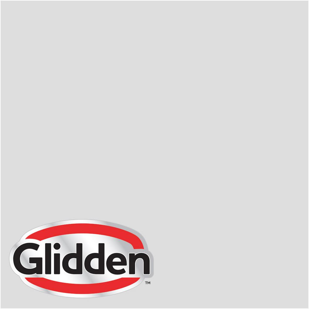 Glidden Premium 1 Gal Hdgcn56u Touch Of Grey Satin Interior Paint With Primer