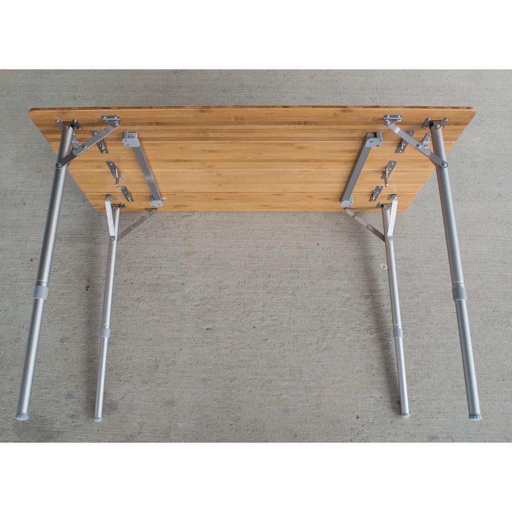 Folding Table In A Bag Frontyard Outdoorhouseplan Com