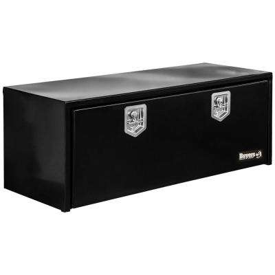 Black Steel Underbody Truck Box with T-Handle Latch, 24 in. x 24 in. x 48 in.