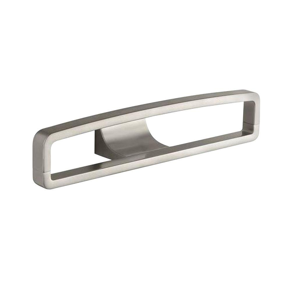 Loure Single Robe Hook In Vibrant Brushed Nickel