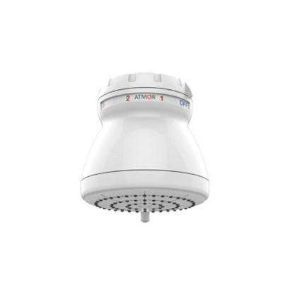 3 kW Electric Tankless Water Heater Showerhead, On Demand Water Heater