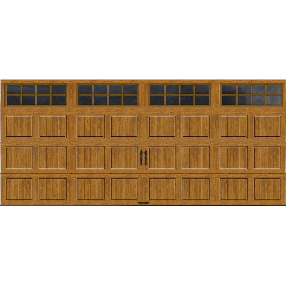 Clopay Gallery Collection 16 Ft X 7 Ft 65 R Value Insulated Ultra