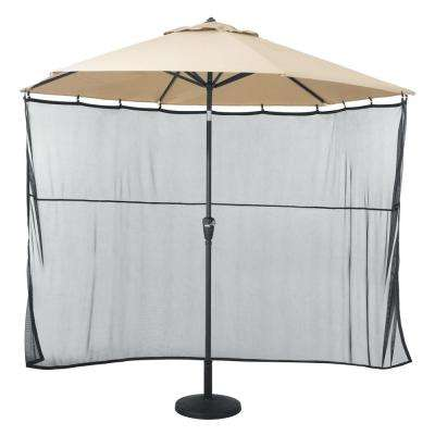 70 in. L x 70 in. W x 158 in. H Universal Patio Umbrella Shade Screen