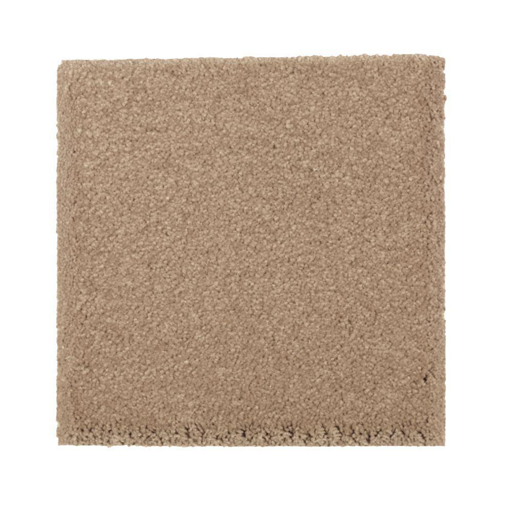 PetProof Carpet Sample Gazelle I Color Canoe Texture 8 In X In MO 387583 The Home Depot