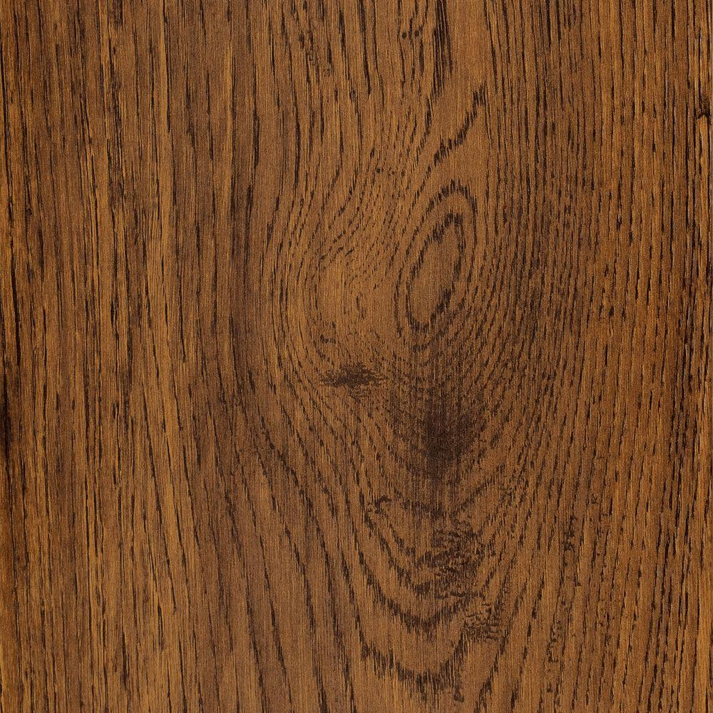 Hampton Bay Dakota Oak 8 mm Thick x Variable 7-3/5 in. and 4-1/3 in. Wide x 47-7/8 in. Length Laminate Flooring (31.73 sq. ft./case)
