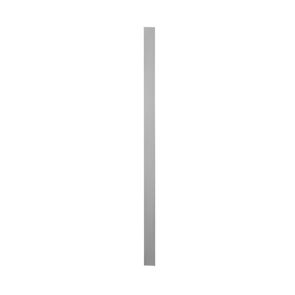 Krosswood Doors 3 In X 96 In X 0 75 In Cabinet Tall Filler In Gray