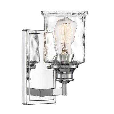 Drake 1-Light Polished Nickel Wall Sconce