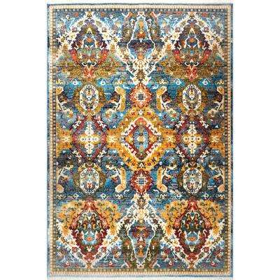 Home Dynamix 8 X 10 Blue Area Rugs Rugs The Home