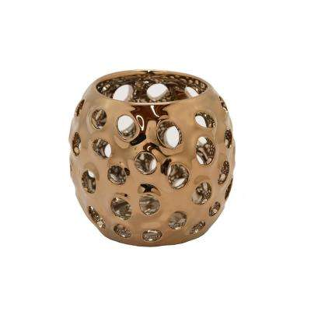 4 in. Ceramic Pierced Bowl