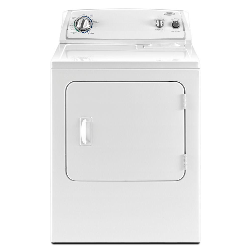 Whirlpool 7.0 cu. ft. Electric Dryer in White-DISCONTINUED