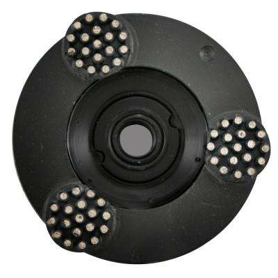 4 in. Pro Series Spike Grinding Wheel Wet / Dry 5/8 in. -11 Thread