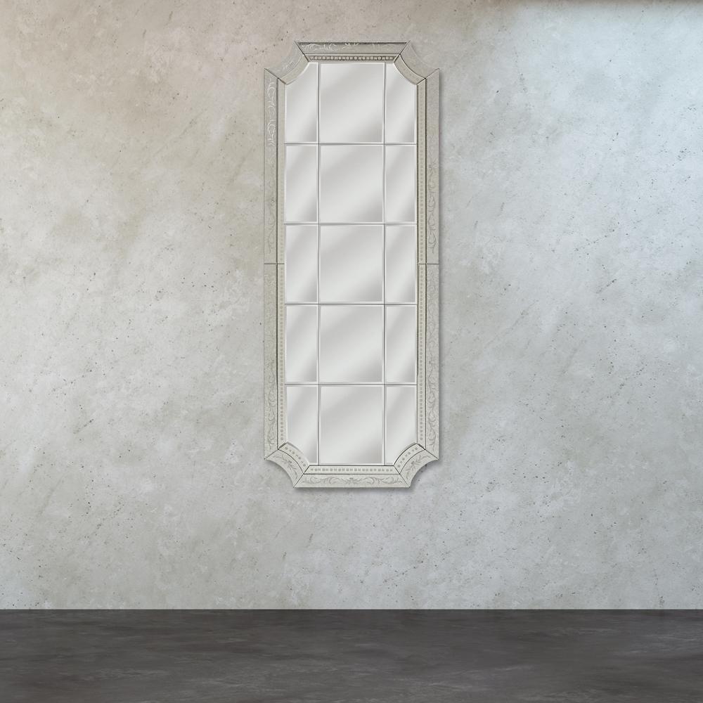 Titan Lighting Long Edwardian Inspired Mirror by Titan Lighting