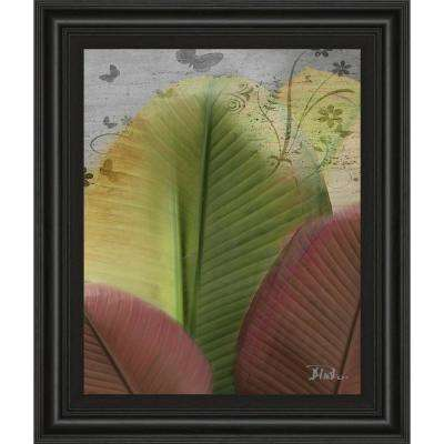 """22 in. x 26 in. """"Butterfly Palm I"""" by Patricia Pinto Framed Printed Wall Art"""
