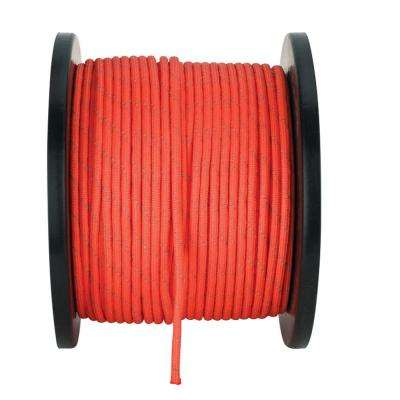 1/8 in. x 500 ft. Reflective Orange Paracord