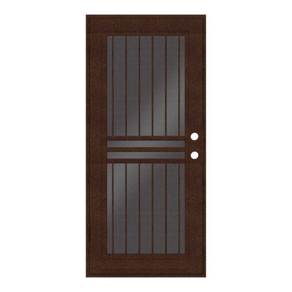 Unique Home Designs 32 In X 80 In Plain Bar Copperclad