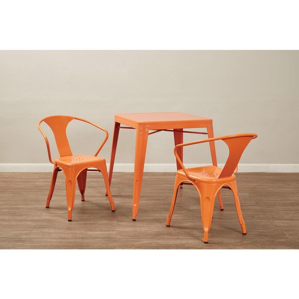 OSPdesigns Patterson Orange End/Side Table