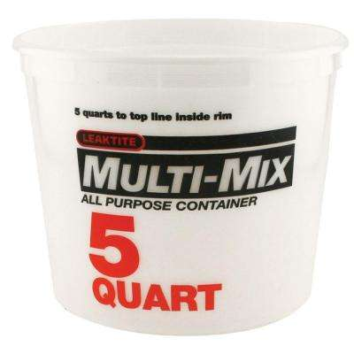 5-Qt. Natural Multi Mix Container (Pack of 3)