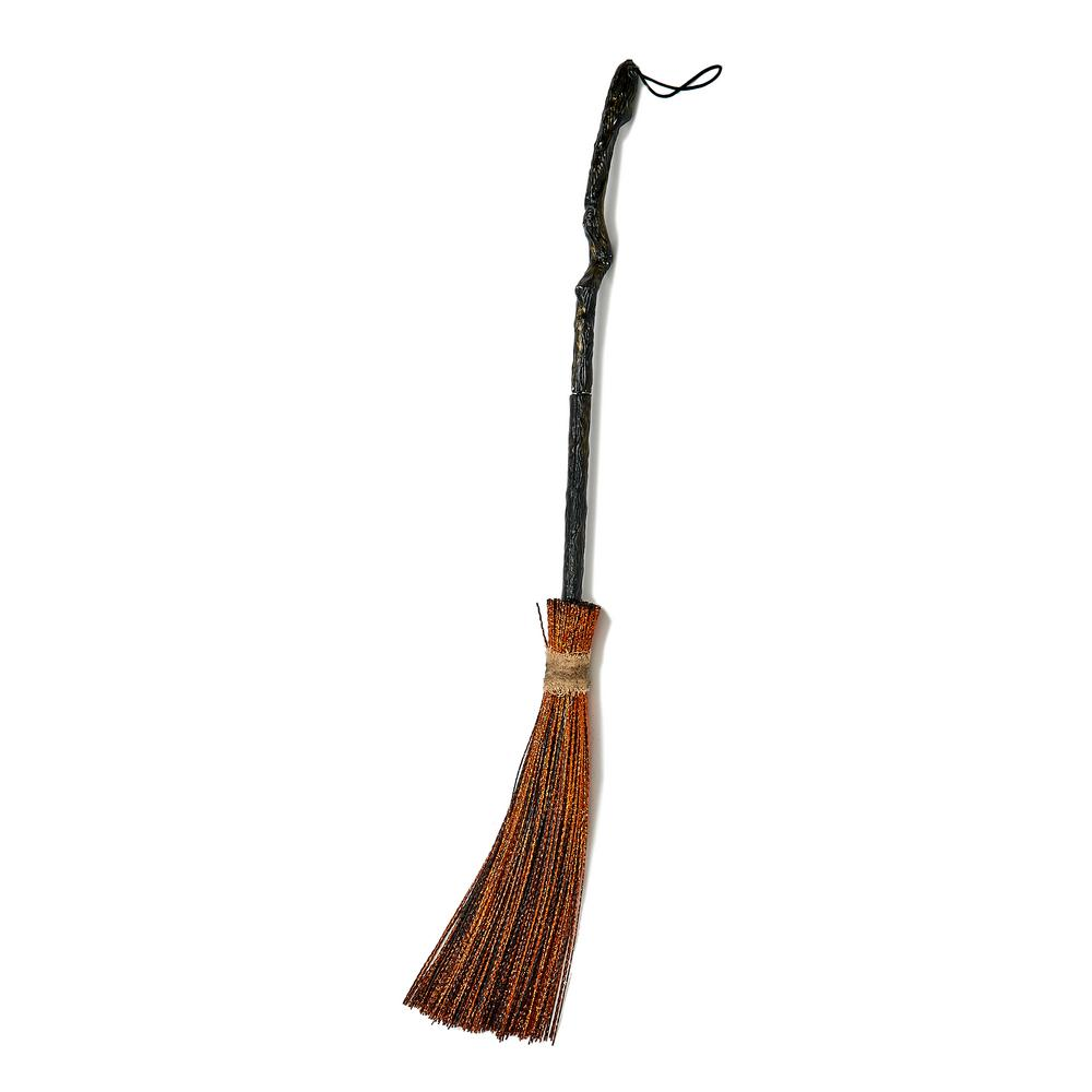 Worth Imports 35 in. Witch Broom Halloween Prop (Set of 2)-4262 - The Home  Depot