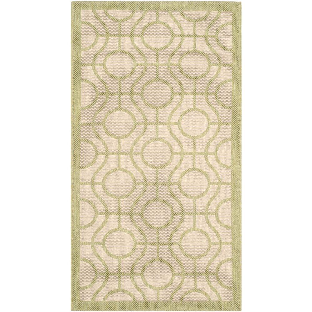 Safavieh Courtyard Beige Sweet Pea 2 Ft X 4 Indoor Outdoor