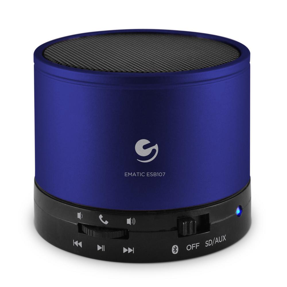 Wireless Speaker and Speakerphone, Blue