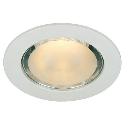 4 in. White Shower Recessed Can Light Lighting Trim Ring