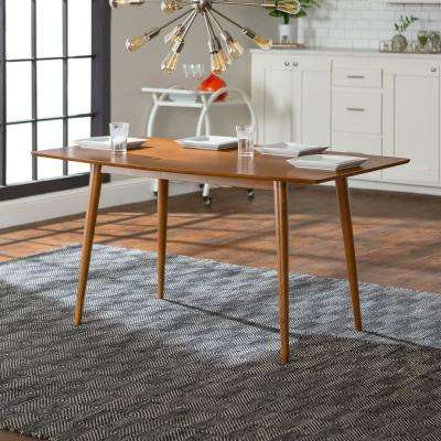 Mid-Century Acorn Dining Table