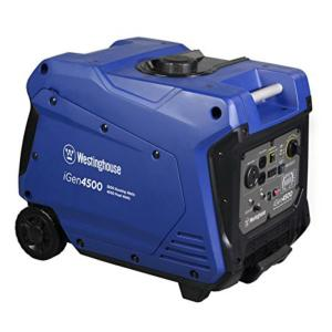 Westinghouse 4500-Watt Gas Powered Remote Start Inverter Generator with Westinghouse Engine by Westinghouse