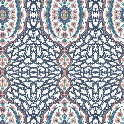 Abstract - Multi-Colored - Fabric - Wallpaper - Decor - The Home Depot