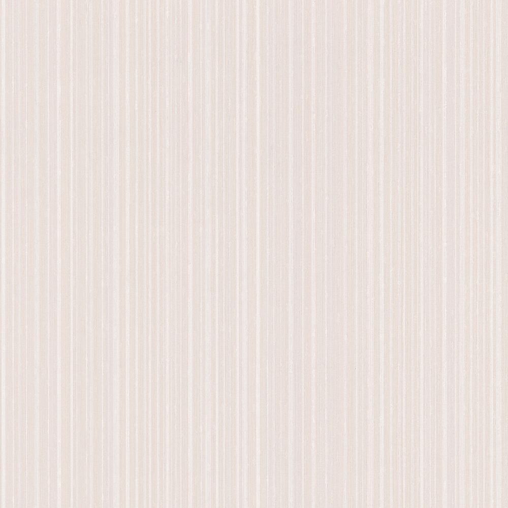 Graham & Brown 56 sq. ft. Linear White Wallpaper