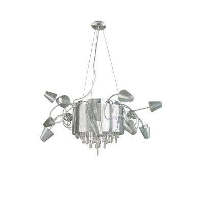 Xavier 25-Light Clear Chandelier