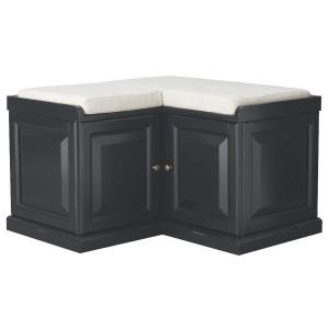 Home Decorators Collection Walker Black Storage Bench Deals